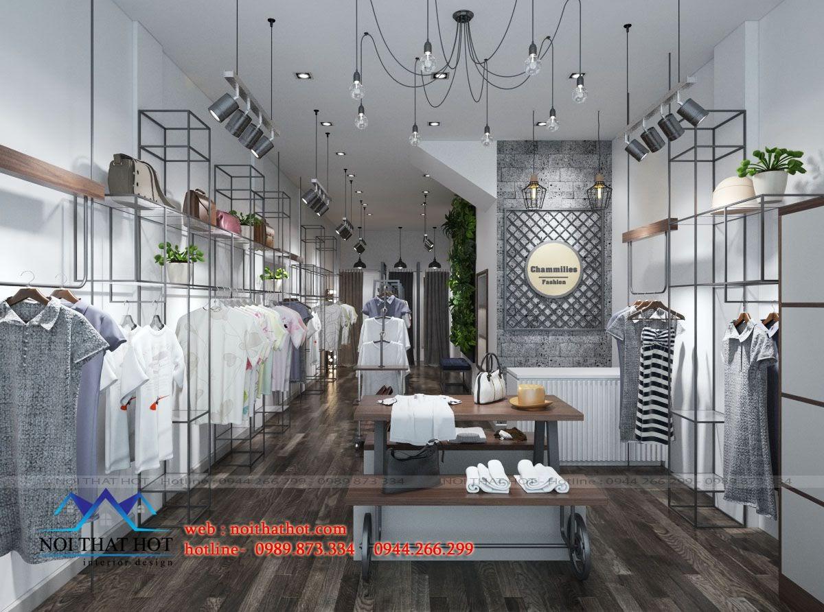 thiết kế shop thời trang nữ tại chùa bộc