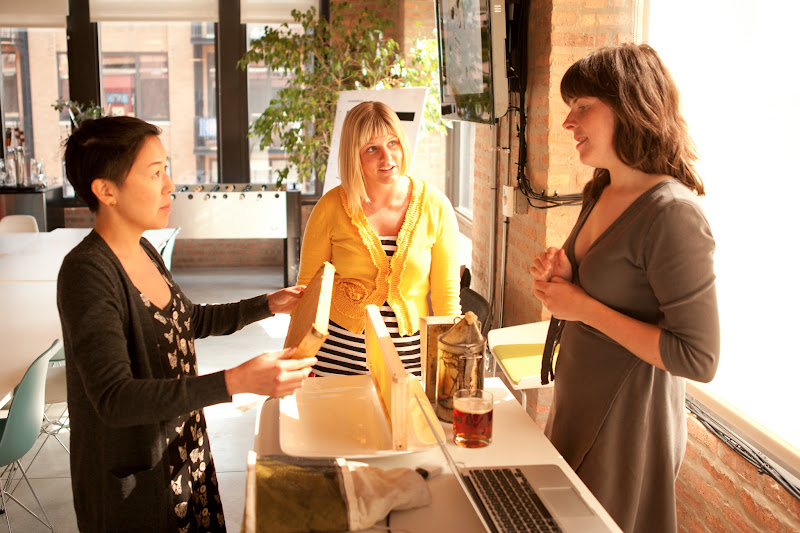 Photo: Bike-a-Bee founder Jana Kinsman @bikeabee talked to IDEO Chicago about urban apiaries, colony collapse & how she Kickstarted her dream job.