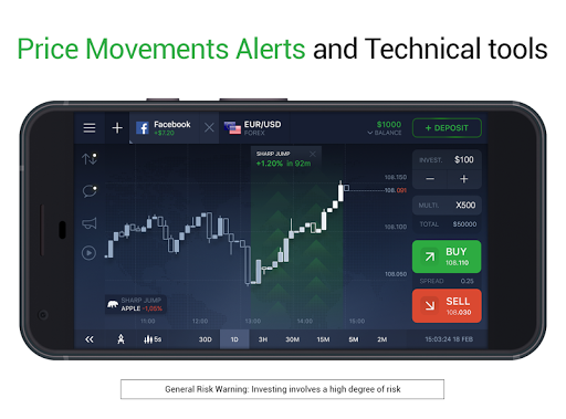 IQ Option broker: trade forex, CFD's, bitcoin screenshot 4