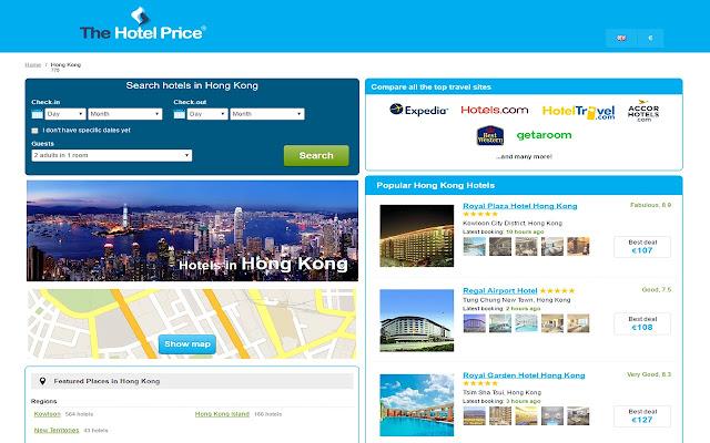 Best Hotel Deals in Hong Kong - Hotel Finder