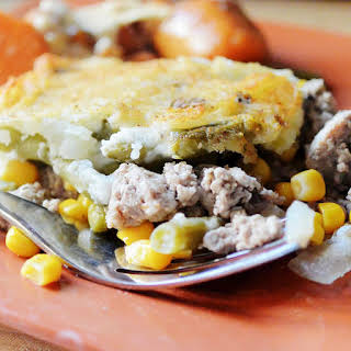 Turkey Shepherds Pie.