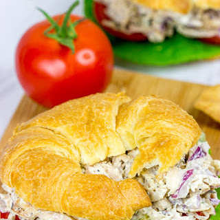 Grilled Chicken Salad Sandwich