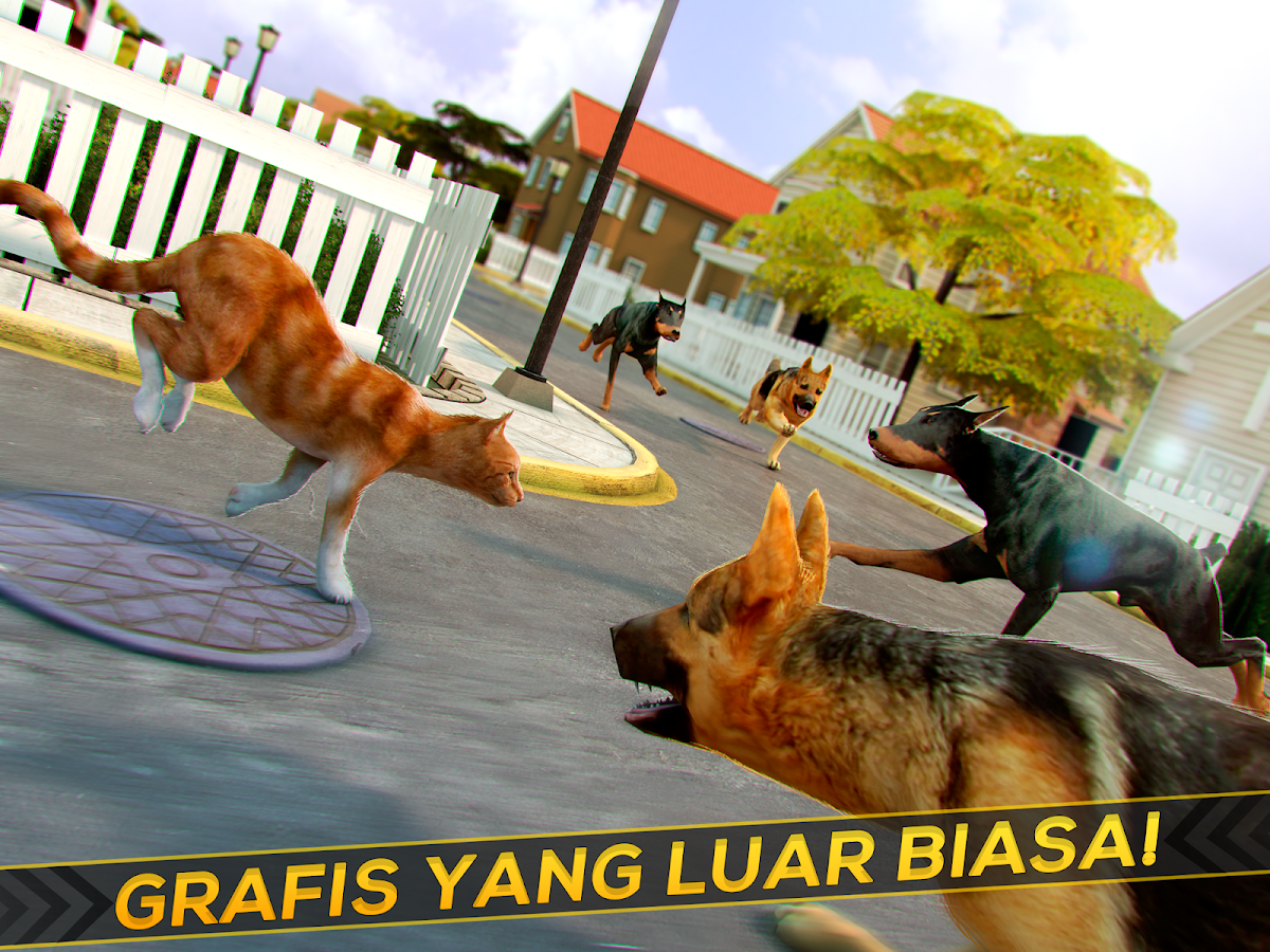 Game Kucing Lucu Balap Apl Android Di Google Play
