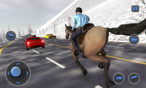 Mounted Horse Police Chase: NY Cop Horseback Ride 1.0.2 androidappsheaven.com 1