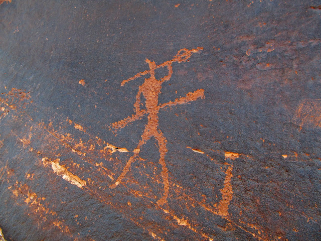 Placer Bottom petroglyph