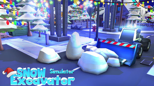 Heavy Snow Plow Excavator Simulator Game 2020 apkmr screenshots 15