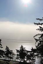 Photo: Strange fogs at Hogan House