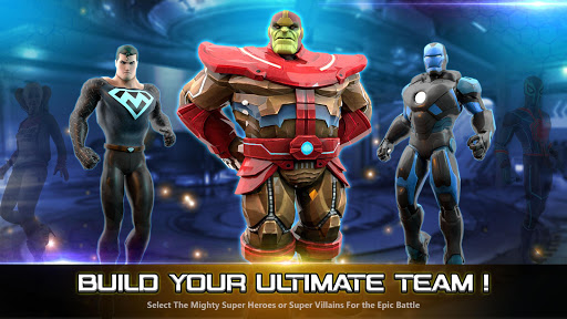 Superhero Fighting Games 3D - War of Infinity Gods 1.0 screenshots 1