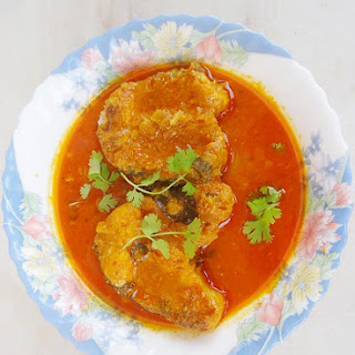 Andhra Fish Curry | Fish Pulusu | South Indian Fish Curry