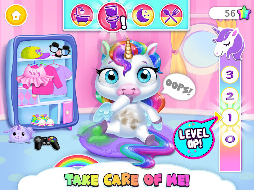 My Baby Unicorn - Cute Rainbow Pet Care & Dress Up 1.0.33 screenshots 11