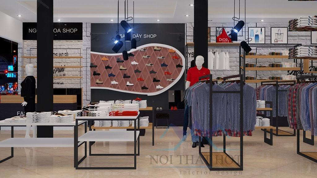 thiết kế cửa hàng thời trang chuyên nghiệp