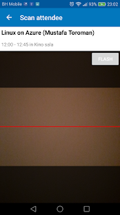 GatherUp Attendance Scanner - náhled