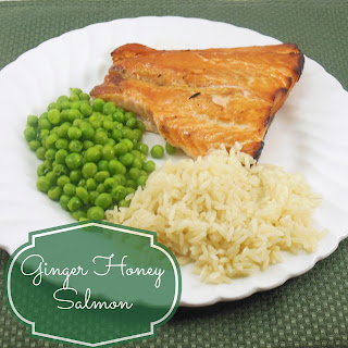 Ginger Honey Salmon