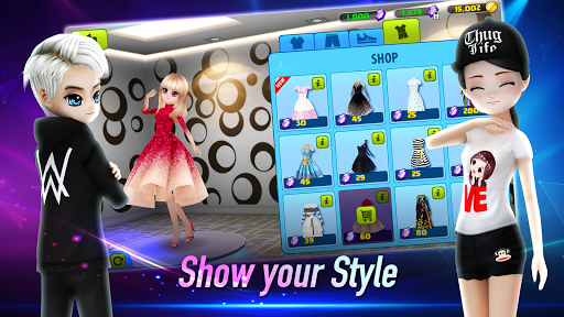 AVATAR MUSIK WORLD - Social Dance Game 0.7.3 screenshots 20