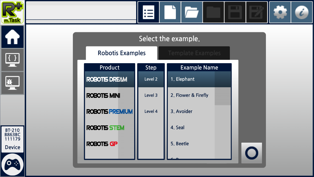 R+ m.Task2 (ROBOTIS)- screenshot