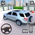 In Car Parking Games – Prado New Driving Game icon