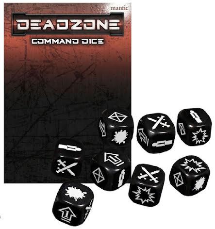 Deadzone 3.0 Command Dice Pack