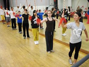 Photo: Chinese Opera Combat, Fall 2010