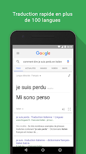 Google Capture d'écran