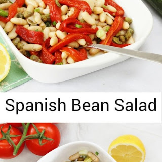 Spanish Bean and Pepper Salad.