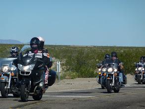 Photo: sur la 66 on rencontre beaucoup de motards
