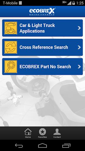 ECOBREX PARTS CATALOG