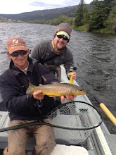 Photo: Brian Flechsig and John McClure- rumor has it that this fish was caught by Steve Buckley