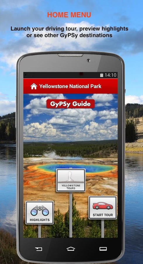 Yellowstone GyPSy Driving Tour- screenshot