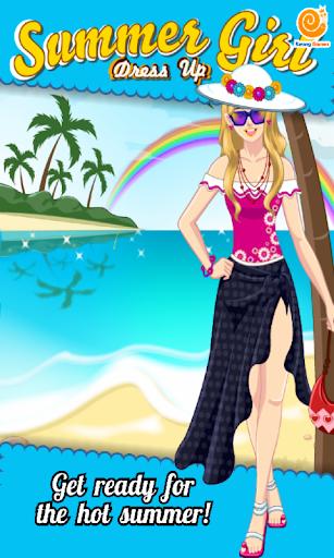 Summer Girl - Dress Up Games