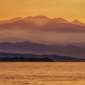 by Nitescu Gabriel - Uncategorized All Uncategorized ( water, mountains, mountain, europe, waterscape, silhouette, greece, beautiful, sea, seascape,  )