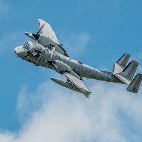 OV-1 Mowhok by Werner Ennesser - Transportation Airplanes ( mowhawk, ov-1, airshow,  )