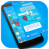 Messaging7 theme for Doraemon1