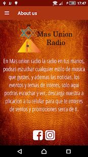 MAS UNION RADIO - náhled
