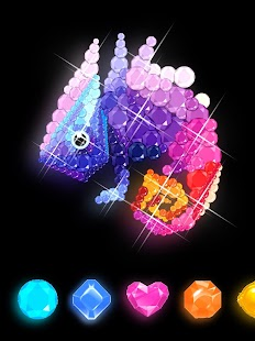 Diamond art - Diamond coloring & Easy  Relaxing Screenshot
