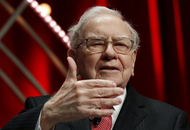 Buffett's Berkshire Hathaway sold billions of dollars in stock index options between 2004 and 2008, betting that markets would rise over the next 15 to 20 years. Picture: REUTERS