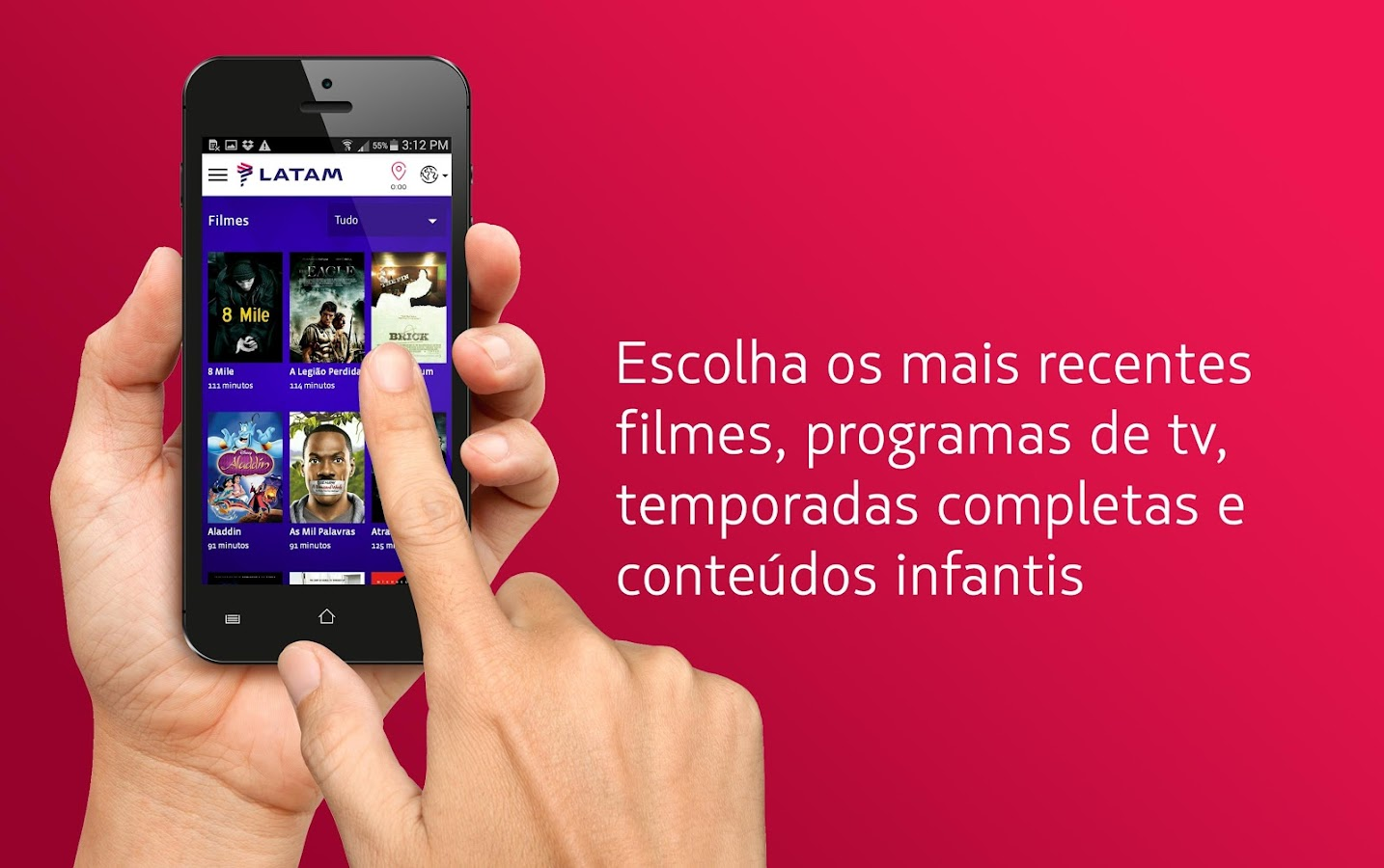 LATAM Entertainment: captura de tela