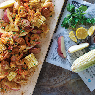 A Low-Country Boil In 5 Minutes, Flat..