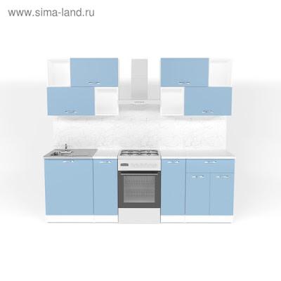 Кухонный гарнитур Евгения макси 5 1800 мм
