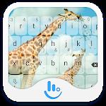 TouchPal Zoo Giraffe Theme