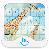 TouchPal Zoo Giraffe Theme