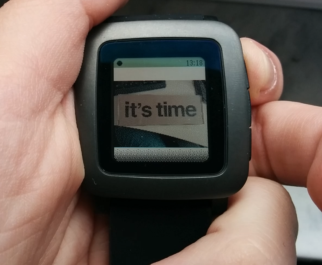 Notification Center for Pebble – Screenshot
