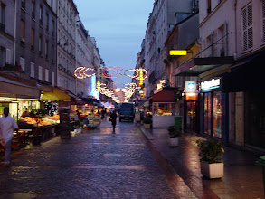 Photo: Our hotel is on the Rue Cler, one of the city's lively market streets.