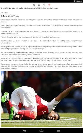 Latest Arsenal News &Transfers 5.6 screenshot 735884