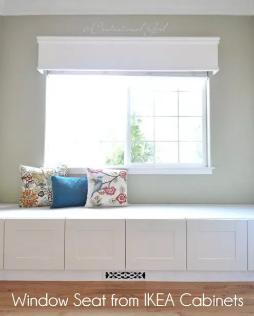 Make a Window Seat: 20 Cheap IKEA Hacks For The Home will help you save maney and transform your space.