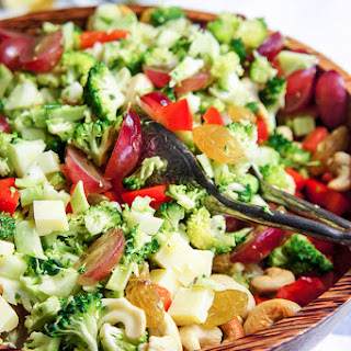Mayo-Free Broccoli Salad