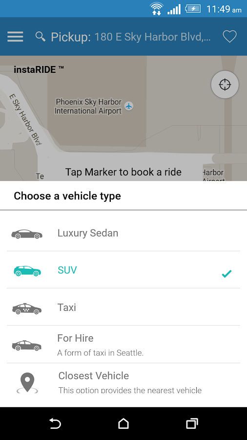 asterRIDE Limo & Taxi Service- screenshot