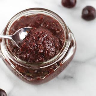3-Ingredient Cherry Chia Jam