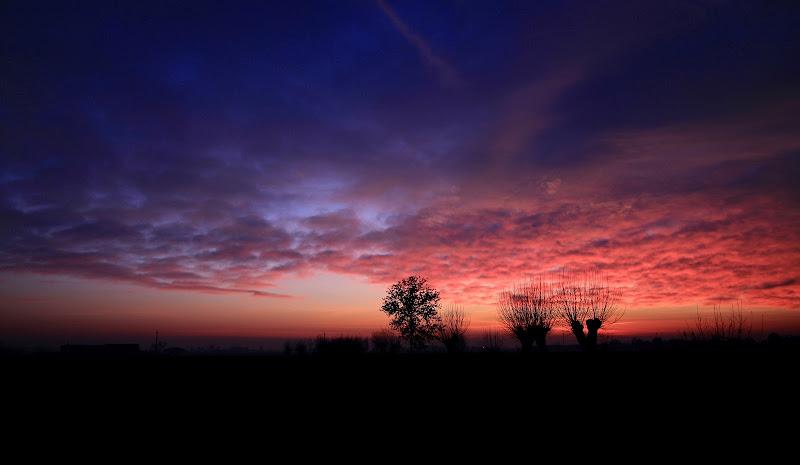 tramonti di campagna di Miriam G.