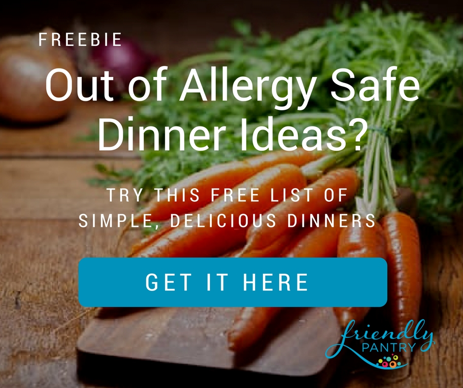 Allergy-friendly dinner ideas
