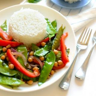 Thai Basil Veggie Stir Fry Nakano (June).